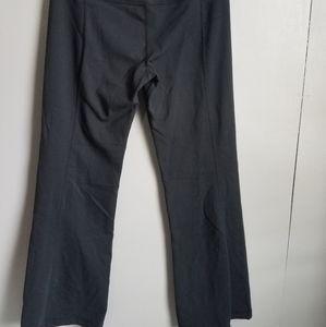 Lululemon Flare Pants Womens Size 8 Black Stretchy